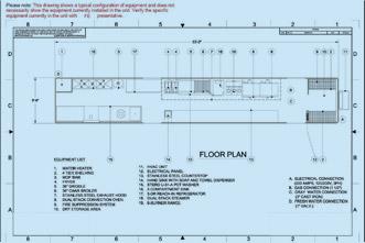 Commercial kitchen design plan