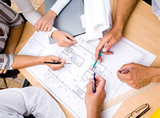 Project managing a kitchen design